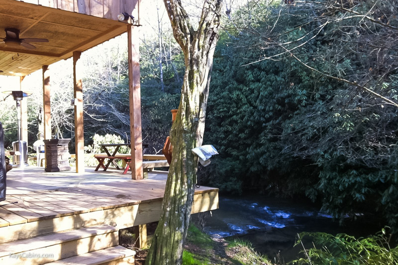 Hothouse creek trout fishing kay s cabin rentals llc for Fishing cabin rentals
